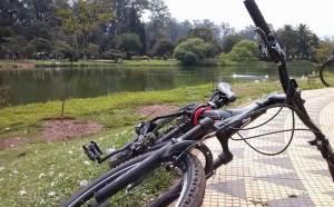 Parada para descanso do pedal